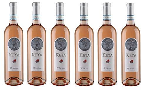 12x 0,75l - 2019er - Guerrieri Rizzardi - Keya - Bardolino Chiaretto Classico D.O.P. - Veneto - Italien - Rosé-Wein trocken