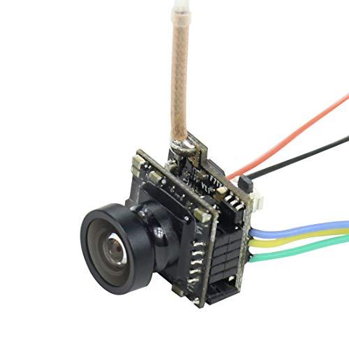 Happymodel HCF7P AIO VTX Camera 5.8G 40CH 25MW Transmitter 700 TVL 120 Degree CMOS Wide Angle NTSC FPV Camera for Happymodel Mobula7 Mobula 7 Sailfly-X FPV Racing Drone Quadcopter