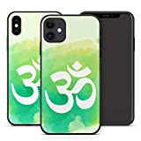 Handyhülle Om Mandala für iPhone Apple Silikon Hülle MMM Berlin Hippie Yin Goa Buddha Peace Yoga, Kompatibel mit Handy:Apple iPhone Xr, Hüllendesign:Design 5 | Silikon Klar