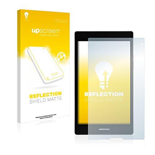 upscreen Entspiegelungs-Schutzfolie kompatibel mit Medion Lifetab P8312 (MD 99334) – Anti-Reflex Bildschirmschutz-Folie Matt