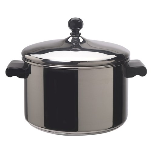 Stainless Steel 4-Quart Covered Saucepan