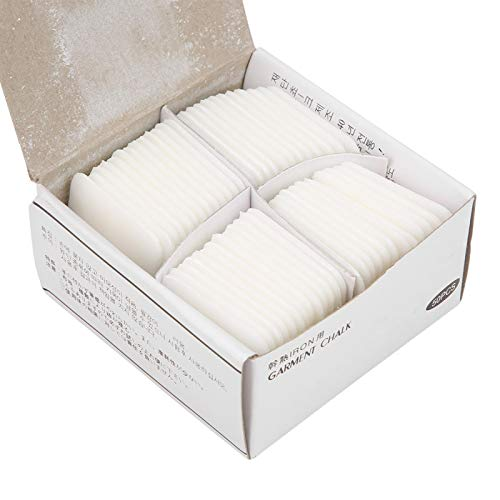 50 unids/Pack Tiza de Sastre Profesional, no Produce Polvo, para Herramientas de Accesorios de Ropa de Bricolaje de Tela, Marcador de Costura