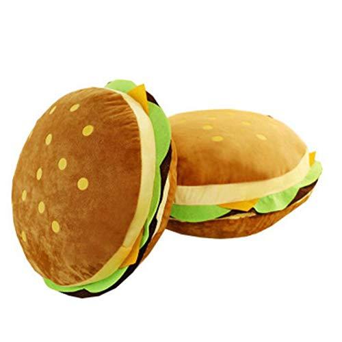 LAVALINK 1pc Cartoon Burger-Kissen-PlüSch-Spielzeug Simulation Sofa Burger Kissen Rag MöBel Dekoration Kindergeburtstagsgeschenk, Kleine