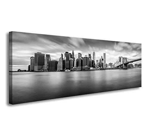120 x 40 cm Cuadro en Lienzo New York Estados Unidos 5734-SCT – Imagen/Impresion/Pintura Listo para Colgar