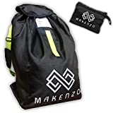 Car Seat Travel Bag by Makenzo - Baby & Child Car Seat Bag - Adjustable Padded Shoulder Straps & Foldable with...