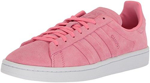 adidas Originals Women's Campus Stitch and Turn W, Chalk Pink/Chalk Pink/Metallic Gold, 10 Medium US