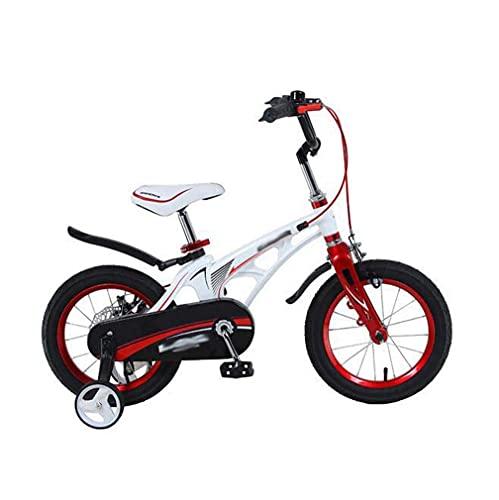 HUAQINEI Bicicleta para niños Nueva 18 Pulgadas 16 Pulgadas 14 Pulgadas 12 Pulgadas mium aleación Bicicleta para niños, Negro, 18 Pulgadas