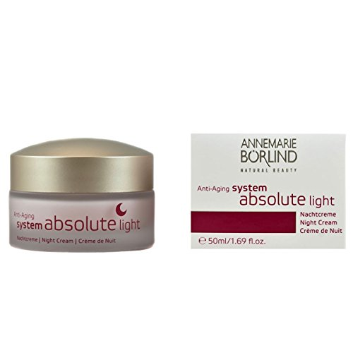 Annemarie Börlind System Absolute femme/woman, Anti-Aging Nachtcreme Light, 1er Pack (1 x 0.05 l)