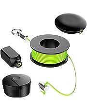 Wiremag Puller, Tråddragningssystem Magnetiska Kabelfiskeverktyg för Man Faders gåva Hem Utomhus Kontor Trädgård Reparation Trådfiske