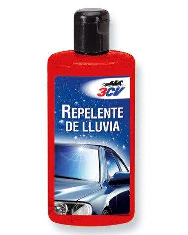 3CV 0232006 Repelente de lluvia para aplicar en cristales de coche o casa