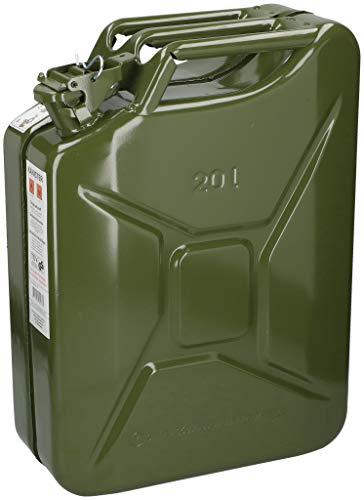 Edco Metall Benzinkanister Kraftstoffkanister 20 Liter 20L mit UN-Zulassung