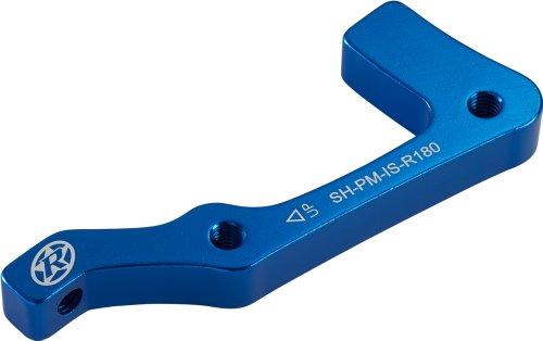 Reverse Adaptador de frenos de disco Shimano is-PM 180 trasero azul oscuro