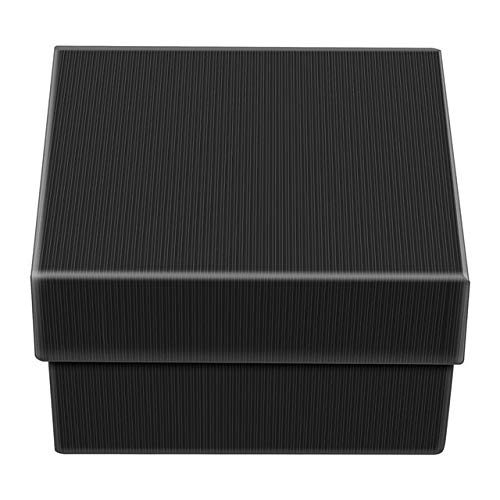 Mdsfe Caja de Reloj de Pulsera de Lujo Organizador de Almacenamiento de exhibición de Caja de Regalo para Pendientes de joyería de Pulsera - Negro, a4