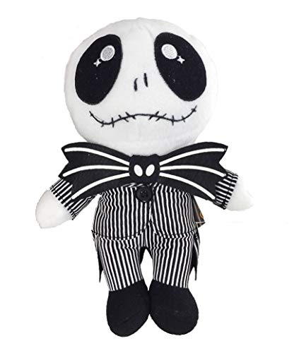 Jack Skellington Plush Doll - illuOkey Nightmare Before Christmas Toys - Pumpkin King Plush Stuffed Lovely Baby Dolls (Jack Doll 8 ')