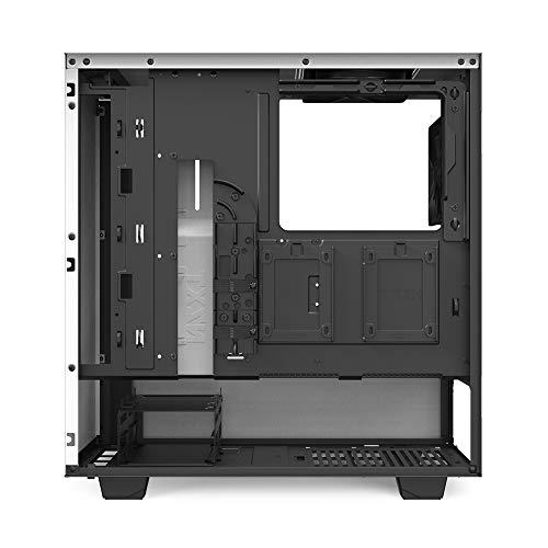 NZXTH510White&BlackミドルタワーPCケース強化ガラスモデルCA-H510B-W1CS7943