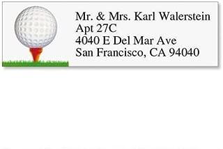 Golf Small Return Address Labels (6 Designs) - Set of 240 2