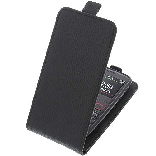 foto-kontor Tasche für Emporia Euphoria V50 Smartphone Flipstyle Schutz Hülle schwarz