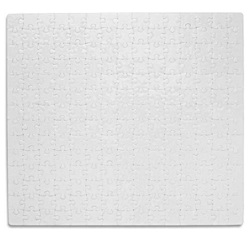Kopierladen Puzzle Blanko individuell gestalten und bemalen, Leeres Puzzle mit glänzender Oberfläche, mit 210 Teilen, ca. 303 x 273 mm, Premium Qualität