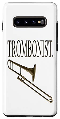 Galaxy S10+ Trombonist Trombone Player Case