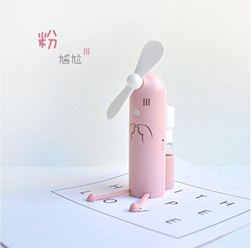 Tianwen Ventilador de Vapor portátil, Mini Ventilador de refrigeración Personal para Mesa de Escritorio, Ventilador de pulverización, Ventilador de Niebla