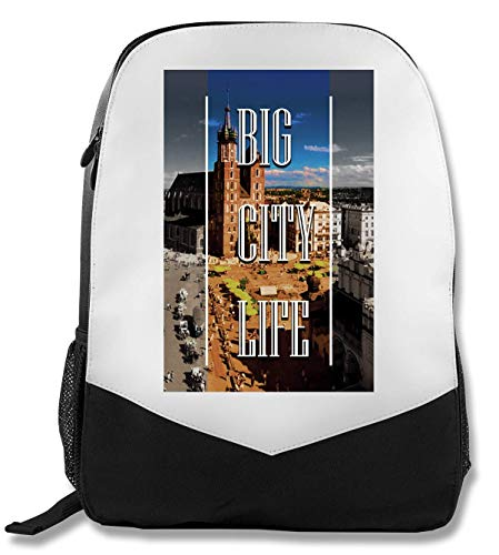 Life   Series   Krakow Town   Popular Words   Osom Quotes   Cool T Shirt   Nice to   Super   Beautiful Landscape   Yolo Swag Rucksack