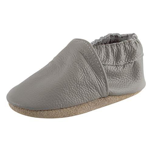 KOSHINE , Chaussures souple pour bébé (garçon) - Gris - gris, 18-24 Monate