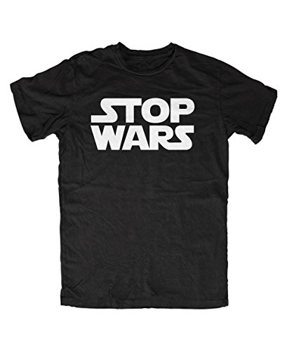Stop Wars T-Shirt (L, Schwarz)