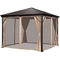 Best Choice Products 10x10ft Hardtop Gazebo Aluminum Canopy