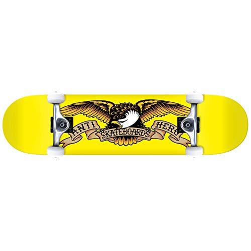 Anti-Hero Classic Eagle Mini 7.3 Planche complète, Jaune, 7.375\