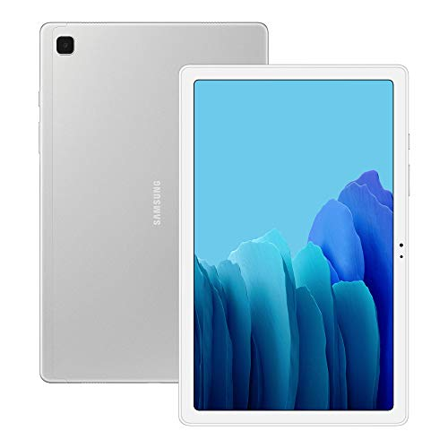Samsung Galaxy Tab A7 32 GB Wi-Fi Android Tablet - Silver (UK Version) (Renewed)