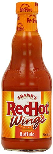 Frank's RedHot Wings: Original Buffalo Wing Sauce (Pack of 2) 12 oz Bottles by Frank's RedHot