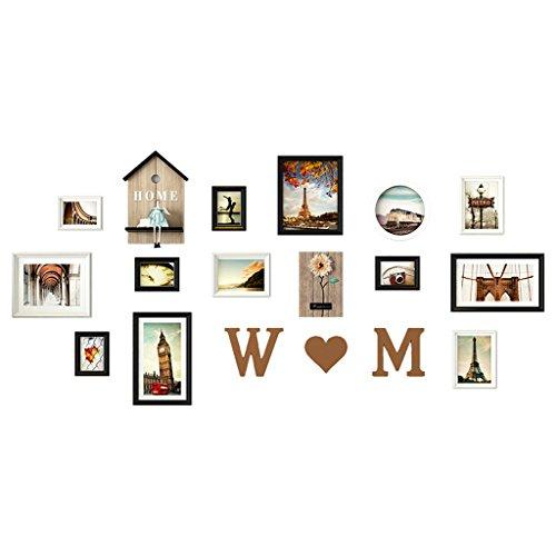 Dongyd Photo Décoration Murale Salon Chambre Cadre Photo Album Mur, Mur De Combinaison Cadre Photo