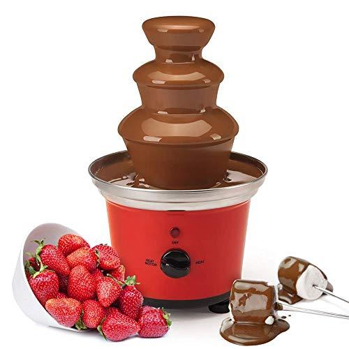 Global Gourmet Belgian Chocolate Fountain Fondue Large Set   500ml Capacity...