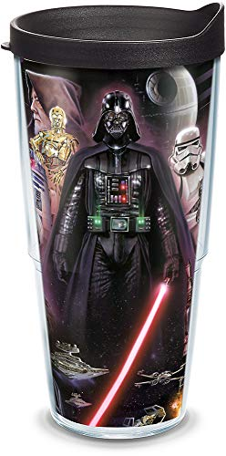 Tervis 1087375 Star Wars - Collage Tumbler with Wrap and Black Lid...