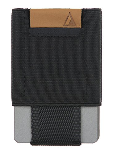 NOMATIC Black Slim Minimalist Wallet- Everyday Carry Card Holder- Keys, Cash, Coin …