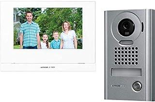 "JOS1VW AIPHONE 7"" Wireless Video Intercom Kit with Jo1mdw, Jodv & P/S JOS1VW Metal Vandal Resistant Surface Mount Camera M..."