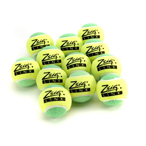 Zsig - Mini Pelotas de Tenis para niños y Adultos, Color Verde