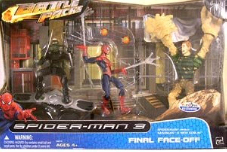 SPIDERMAN -  FINAL FACE-OFF  (EXCLUSIVE 3 PIECE BOX SET)