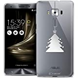 Caseink - Coque Housse Etui pour ASUS Zenfone 3 Deluxe ZS570KL (5.7) [Crystal Gel Motif HD...