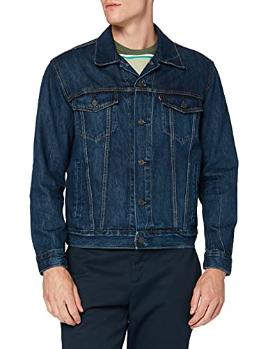 Levi's The Jacket Giacca in Jeans, Palmer Trucker, M Uomo