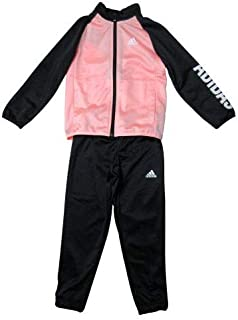 d1e3f207f5ccd adidas - Survet Black/Coral Girl - Survetement Ensemble