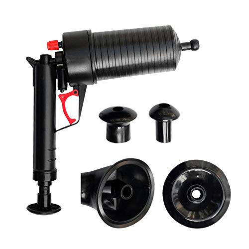 Kit de herramientas de émbolo neumático, vaciamiento de la pistola de perforación de dominador, bomba de alcantarillado de componentes desmontable, émbolo de alta presión, utilizado para el baño de in