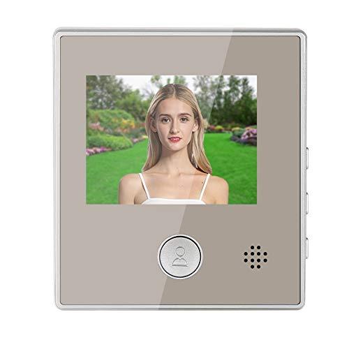 Timbre video, cámara video del timbre del intercomunicador práctico de la seguridad, apartamento para la seguridad en el hogar