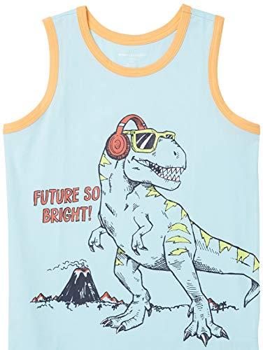 Amazon Essentials Boy's Sleeveless Tank Tops T-Shirt, 5-pack Dinosaur, 3 Y (Manufacturer Size: XS)