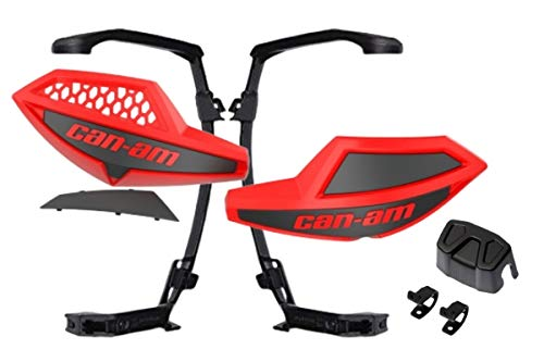 Can-Am Handlebar Air Deflectors with Full Wrap Mount Kit for Outlander, Renegade