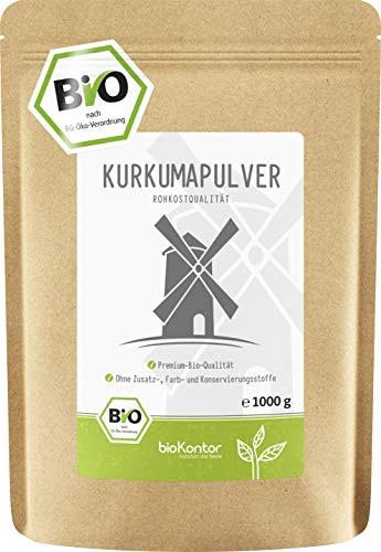 BIO Kurkuma Pulver gemahlen 1000g / 1 kg | Kurkumapulver - Curcuma - Curcumin |...