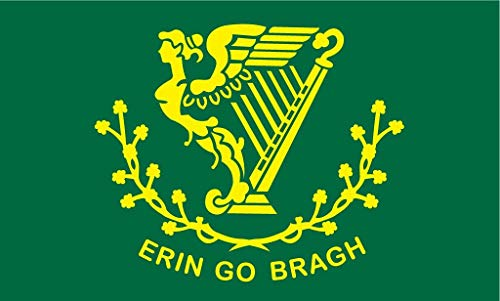 Erin Go Bragh Flag 3x5 3 x 5 NEW IRELAND IRISH Banner