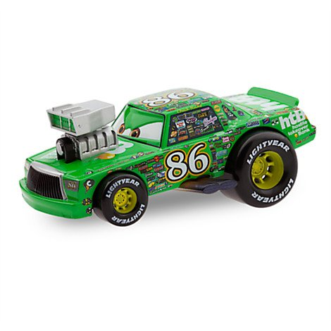 Disney Pixar Cars Exclusive 1:43 Die Cast Car Chick Hicks - Hot Roddin' Series