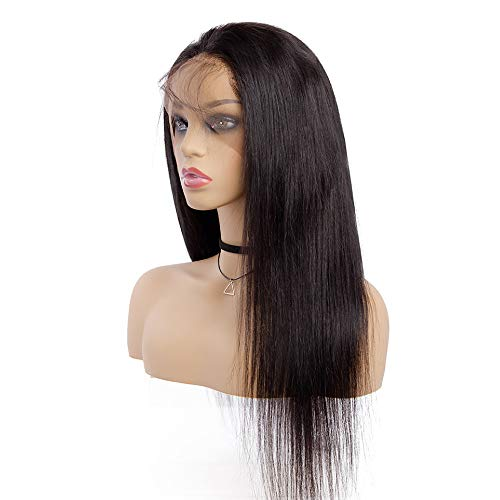 "Sedittyhair MALAIKA Straight 12"" Full Lace Human Hair Wigs With Baby Hair For Black Women Parting Remy Hair Glueless Full Lace Wig Pre Plucked Hibaby Hair With 12 inch"