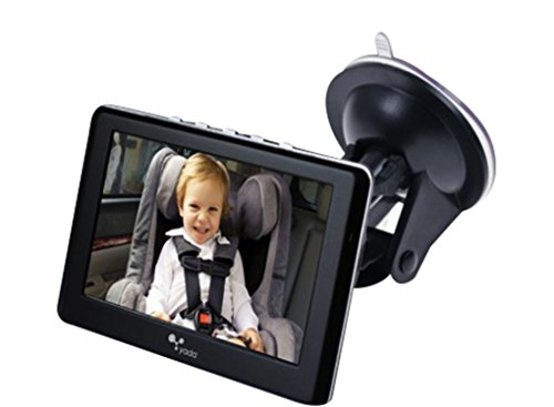 Yada BT53901F-2 4.3 Inch Tiny Traveler Digital Wireless Baby Matte Black | 4.3 Monitor | Car Truck SUV